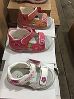 Детские сандалии на липучках для девочек CSCK.S оптом Размеры  21-26