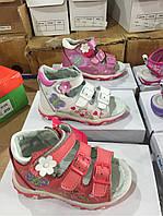 Детские сандалии для девочек CSCK.S оптом Размеры  21-26