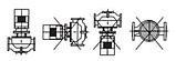 Циркуляционный насос Sprut 3VP–DN100L (трёхфазный), фото 5