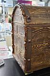 Деревянный сундук сосна, фото 4