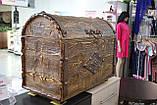 Деревянный сундук сосна, фото 5