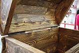Деревянный сундук сосна, фото 6