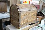 Деревянный сундук сосна, фото 7