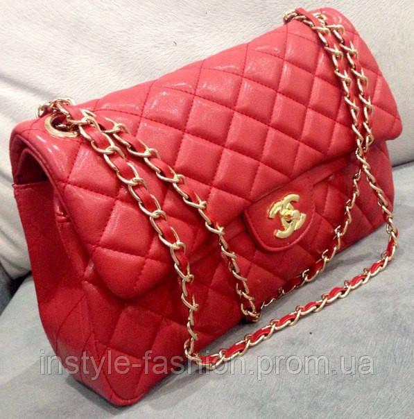 7e0946a70825 Клатч красный через плечо Chanel сумочка Шанель: купить недорого ...
