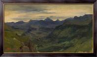 Картина Долина Сент-Винсент, Руссо, Теодор