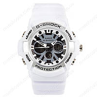 Бюджетные часы Casio G-Shock GA-200SH White-Black