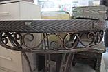 Деревянный стол ясень+ковка, фото 3