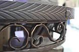 Деревянный стол ясень+ковка, фото 5