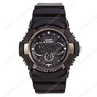Бюджетные часы Casio G-Shock GA-200SH All Black