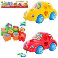Детская игрушка каталка-сортер BABY TOYS Y 998  машинка, SR