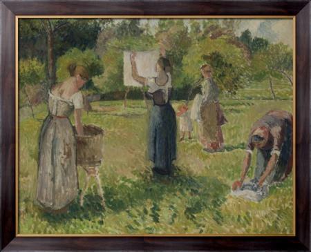Картина Прачки в Эрагни, 1901, Писсарро, Камиль - Макросвит в Киеве