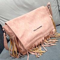 Клатч через плечо Stella McCartney клатч розовый
