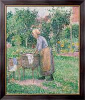 Картина Прачка в Эрагни, 1893, Писсарро, Камиль