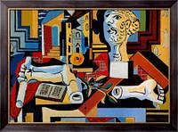 Картина Гипсовые голова и руки, 1925 , Пикассо, Пабло