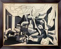 Картина Склеп, братская могила, 1945  , Пикассо, Пабло