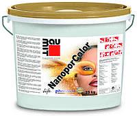 Краска нанопористая BAUMIT NANOPOR COLOR фасадная, 24кг
