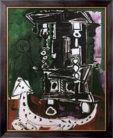 Картина Буфет в Вовенарге (Буфет Генри II с собакой и креслом), 1959  , Пикассо, Пабло