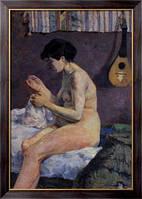 Картина Эскиз обнаженной, 1880  , Гоген, Поль