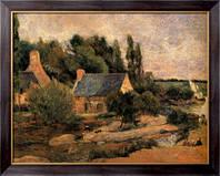 Картина Прачки в Понт-Авене, 1886, Гоген, Поль