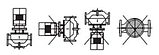 Циркуляционный насос Sprut 3VP–DN40H (трёхфазный), фото 5