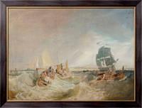 Картина Перевозка груза  в устье Темзы, Тернер, Джозеф Мэллорд Уильям