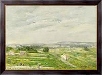 Картина Пейзаж на юго-западе Франции, 1900, Глейзес, Альберт