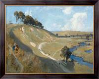 Картина Долина на Сомме, 1918, Фуллвуд, Альберт Генри
