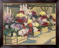 Картина Магазин цветов, Элтмен, Александр