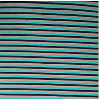 Трикотажная ткань интерлок 40/1 ПЕНЬЕ хлопковый набивной с начёсом