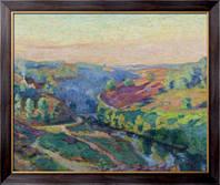 Картина Долина в  Крез, Гийомен, Арманд