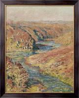 Картина Долина Крез в Фреслайнс, 1889, Моне, Клод