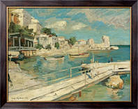 Картина На побережье Черного моря, 1914, Коровин, Константин Алексеевич