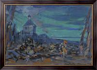 Картина Художник-постановщик, 1923, Коровин, Константин Алексеевич