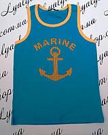 Майка для мальчика Aquamarine р.98-128.Детская одежда оптом из Венгрии