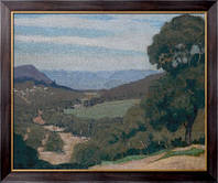 Картина Долина, 1926, Грюнер, Элиот