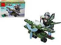 Конструктор BRICK 804 самолёт-разведчик, 50 дет