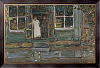 Картина Продуктовый магазин, 1917, Хассам, Фредерик Чайлд