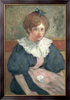 Картина Девушка с  синей лентой, 1900, д'Эспанья, Жорж