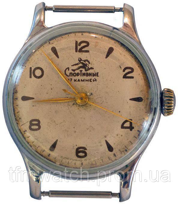 Спортивные механические часы СССР
