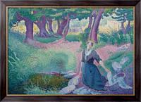 Картина Прачка, 1895-96, Кросс, Анри Эдмон
