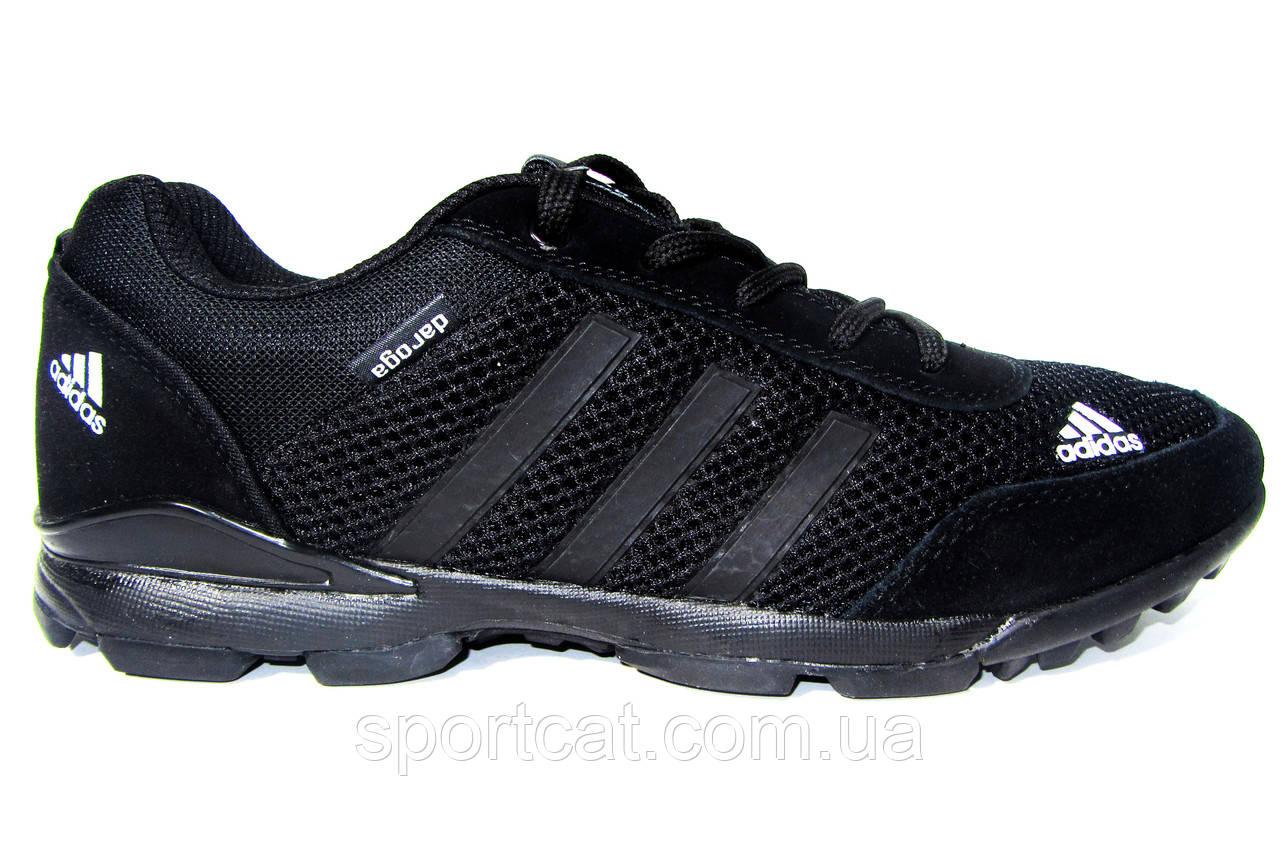 Мужские кроссовки Adidas Zictech, сетка, черные