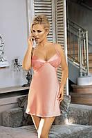Элегантная розовая сорочка Excellent Beauty U-803
