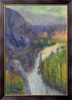 Картина Долина Лот недалеко от Сант-Сер-Лапопи, Мартин, Анри Жан Гийом Мартин