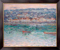 Картина Буксир на Сене,  Рассел, Джон Питер