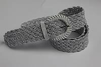 Женский пояс плетеная-резинка