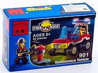"""Конструктор """"Пожарная машина"""" 62 деталей Brick 901"""