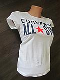 Женская футболка Converse Реплика, фото 3