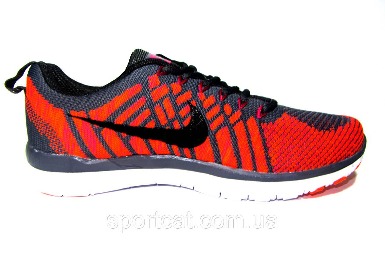 e8314b72 Женские, подростковые кроссовки Nike Free Flyknit, текстиль, серые с  оранжевым, цена 850 грн., купить Лубны — Prom.ua (ID#282559125)