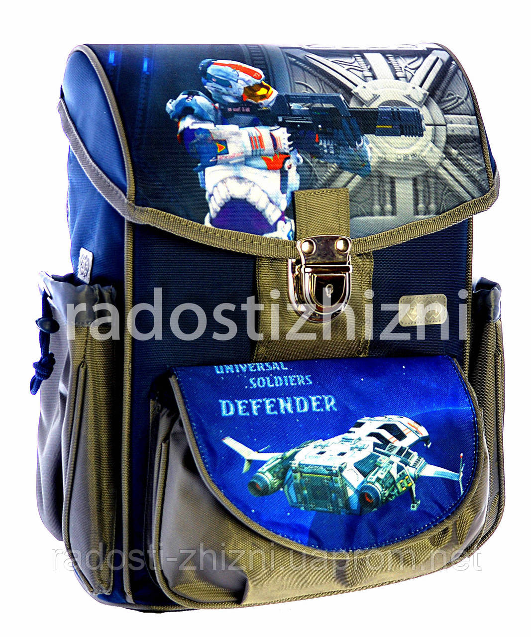 Ранец школьный ортопедический ZIBI SATCHEL DEFENDER CIRCUS MINI 0114 RC
