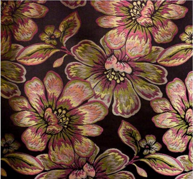 Ткань Бланка жаккард цветами. Политра цветов в ассортименте.